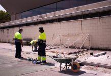 Comienzan las obras del Polideportivo M-4 de Alcorcón
