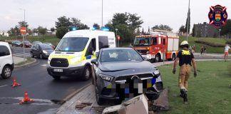 Dos accidentes de tráfico en Alcorcón en un mismo día