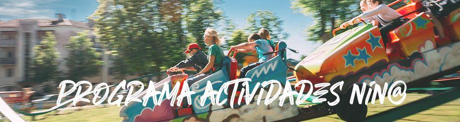 Programa Actividades Niños - Fiestas de Alcorcón 2021