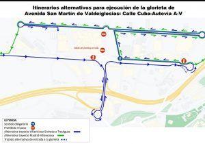 Comienza una nueva fase del plan de asfaltado de Alcorcón