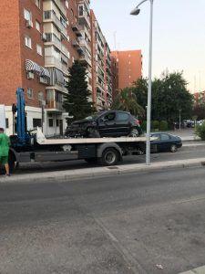 Varios accidentes este fin de semana en Alcorcón