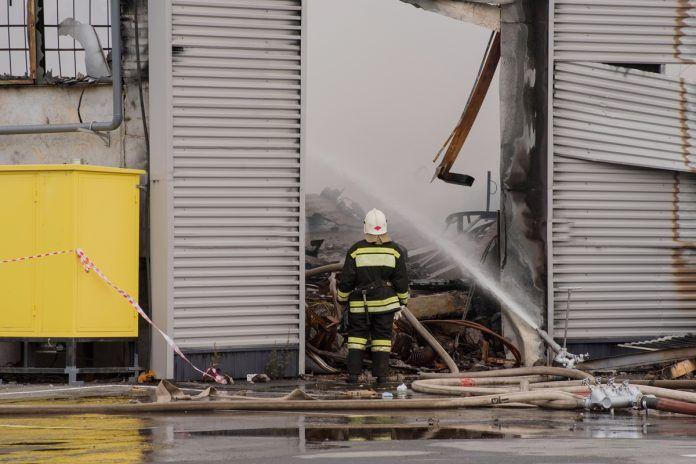 Incendio en una vivienda de Alcorcón