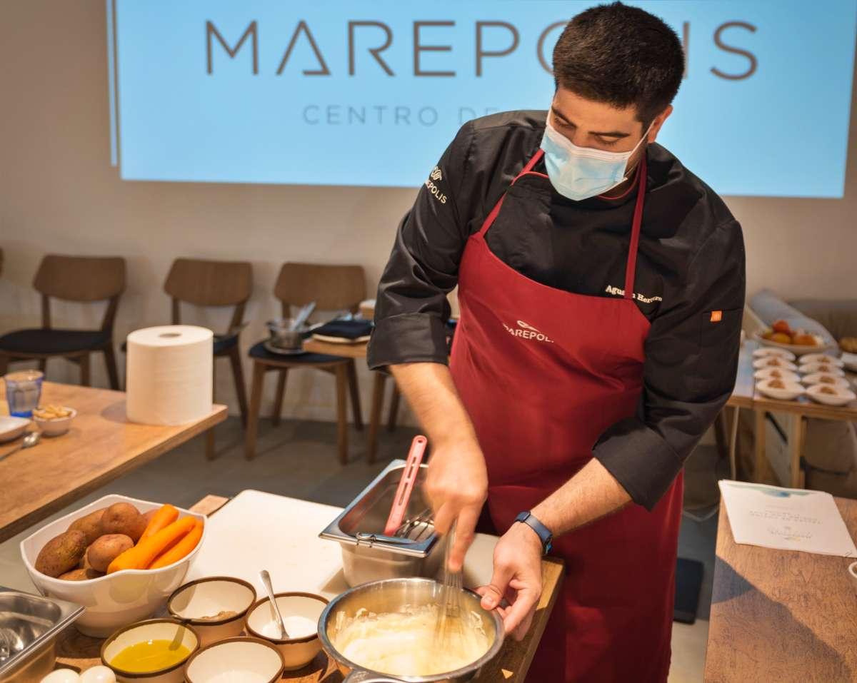 Marepolis. Ganador en la modalidad de repostería en el Primer Certamen de Alcorcón Cultura Gastronómica
