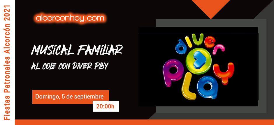Diver Play - Fiestas Alcorcón 2021