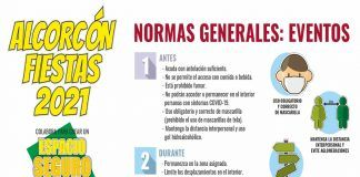 """Nueva campaña en Alcorcón para las fiestas: """"Cuidarnos es mejor"""""""