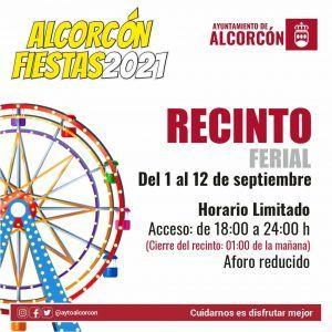 La agenda de las fiestas de Alcorcón: actividades del día 1 de septiembre
