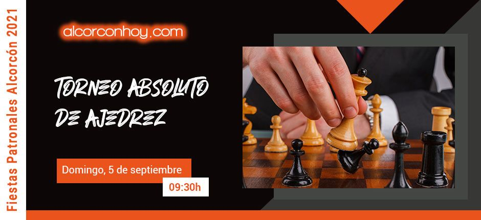 Torneo Absoluto Ajedrez Fiestas Alcorcón 2021