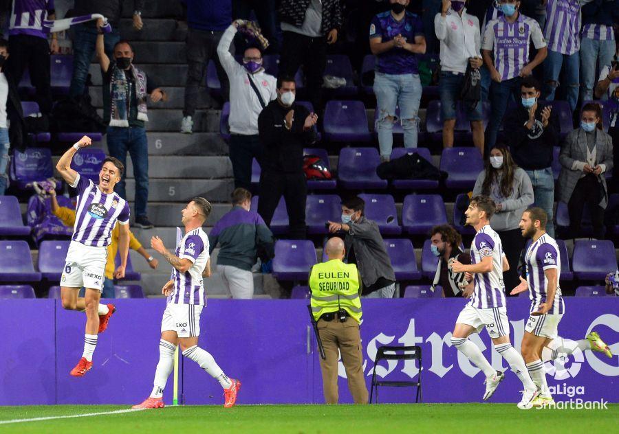 Valladolid 1-0 Alcorcón/ El Alcorcón se hunde un poco más en Valladolid