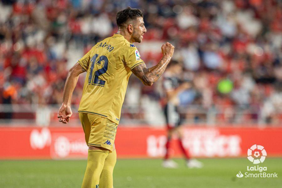 El Alcorcón suma la primera victoria con goles de Zarfino, Asencio y Xisco