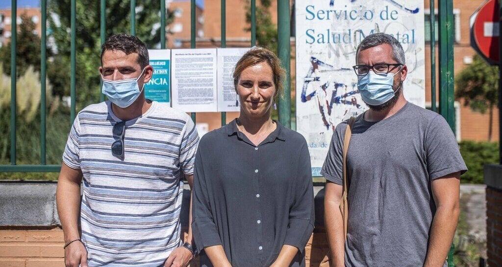 Mónica García pide un plan para la salud mental en Alcorcón