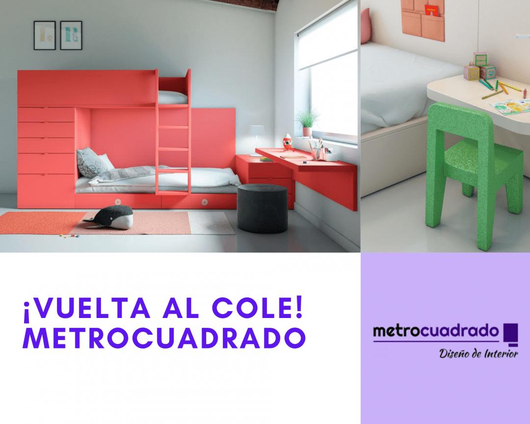 vuelta al cole con Metrocuadrado Alcorcón.