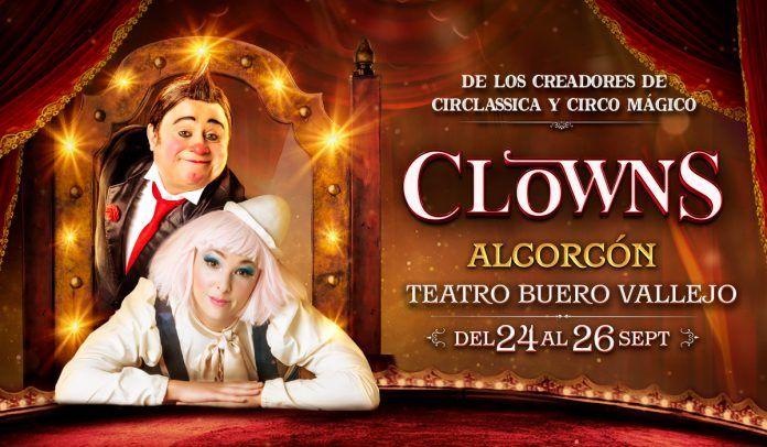 Sorteo de 4 entradas para ver Clowns en Alcorcón