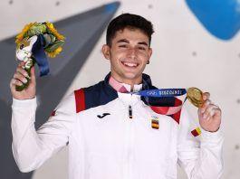 La sorprendente visita a Alcorcón de Alberto Ginés, oro olímpico en Tokio 2020