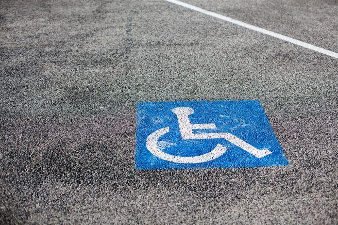 Novedad en el aparcamiento para personas con discapacidad en Alcorcón