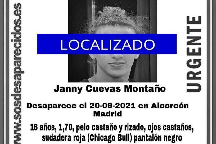 Aparece el menor que estaba desaparecido en Alcorcón