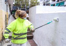 El plan de limpieza 'Barrio a Barrio' de Alcorcón echa a andar
