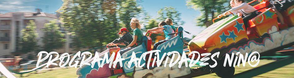 El Recinto Ferial se prepara para los últimos días de la semana. Atracciones a 1 euro en el Día del Niño de las Fiestas de Alcorcón 2021
