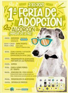 Primera feria de adopción animal en Alcorcón