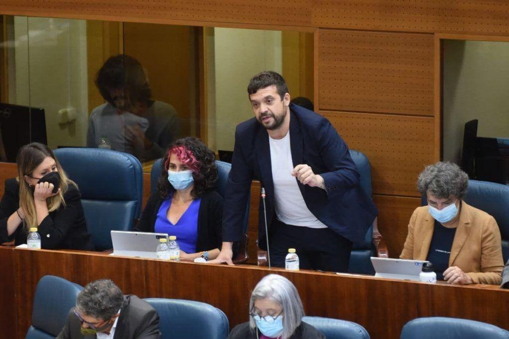 Jesús Santos pide soluciones para el Hospital de Alcorcón