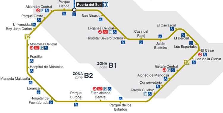 Los vecinos de Alcorcón ya cuentan con un Metrosur sin tramos lentos