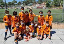 Adiós a la mascarilla en el fútbol de Alcorcón