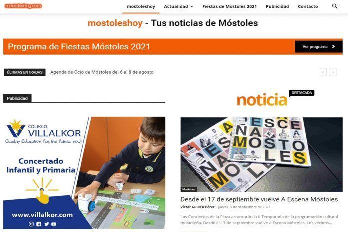 Nace Móstoles Hoy, el diario digital con toda la actualidad de la ciudad vecina de Alcorcón