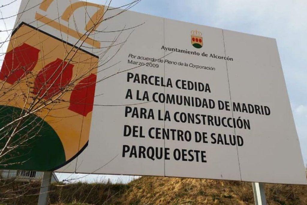 El centro de salud de Parque Oeste de Alcorcón podría estar listo en enero de 2023