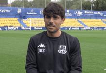"""Jorge Romero """"La situación del Alcorcón es difícil"""""""
