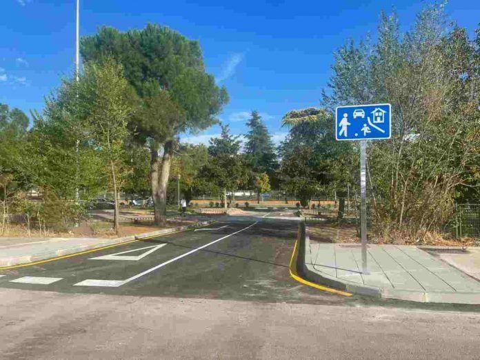 Nuevo acceso al parking de la avenida Pablo Iglesias de Alcorcón