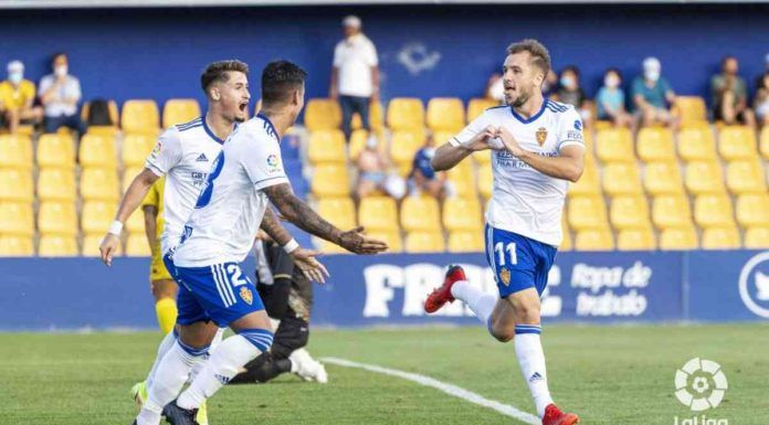 Alcorcón 1-2 Zaragoza/ El Alcorcón se hunde en la clasificación tras la remontada del Zaragoza