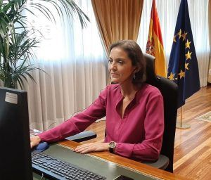 La ministra alcorconera Reyes Maroto se disculpa por sus controvertidas palabras sobre el volcán de La Palma