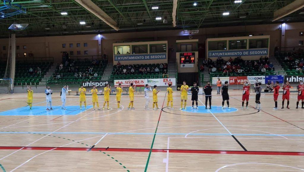 Debut histórico del Alcorcón de fútbol sala en Copa del Rey
