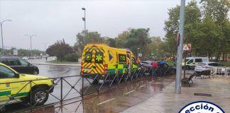 Accidente de tráfico de un varón en Alcorcón