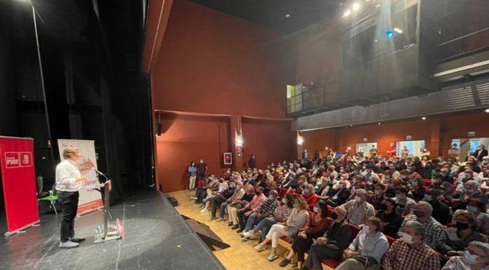 Acto multitudinario del PSOE en Alcorcón