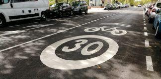 Así es el nuevo carril bici que cruza una parte importante de Alcorcón