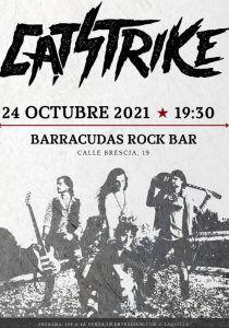 Así suena lo nuevo de Catstrike, grupo de rock de Alcorcón