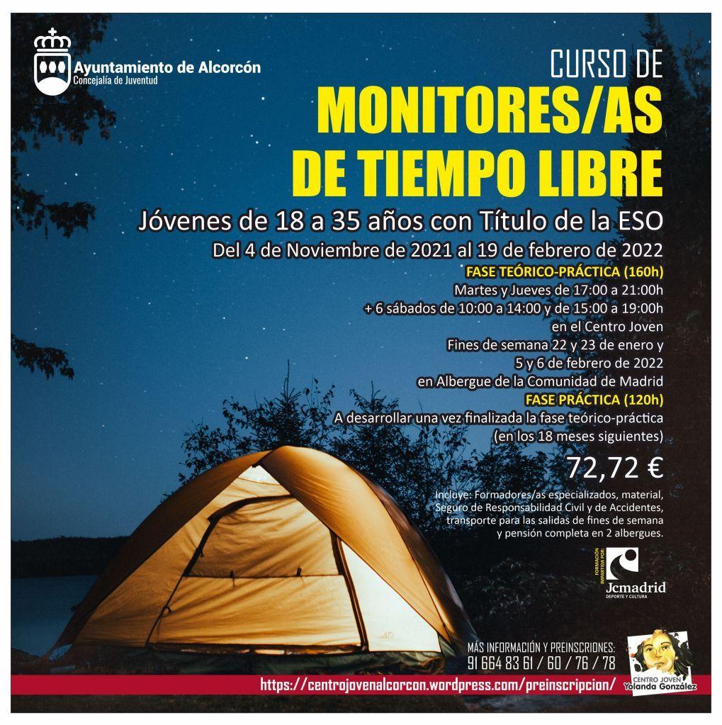 La Concejalía de Juventud de Alcorcón organiza un curso para monitores de tiempo libre