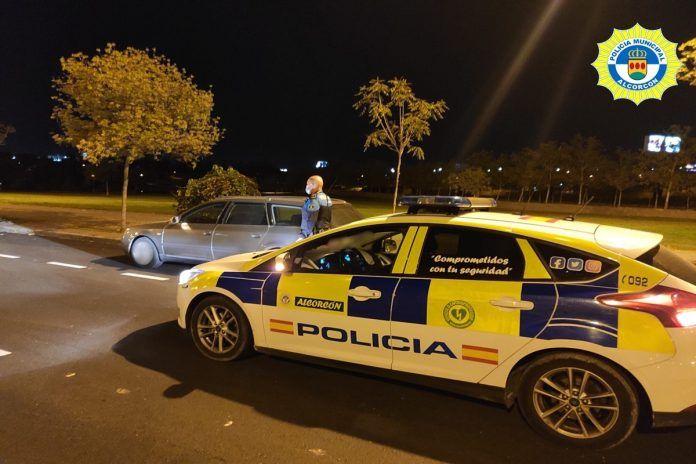 La Policía Municipal de Alcorcón recupera un vehículo robado