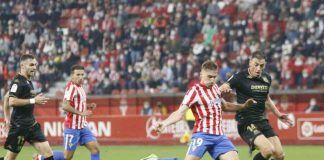 Sporting 1-0 AD Alcorcón/ Una jugada rocambolesca en el 90 impidió puntuar al Alcorcón