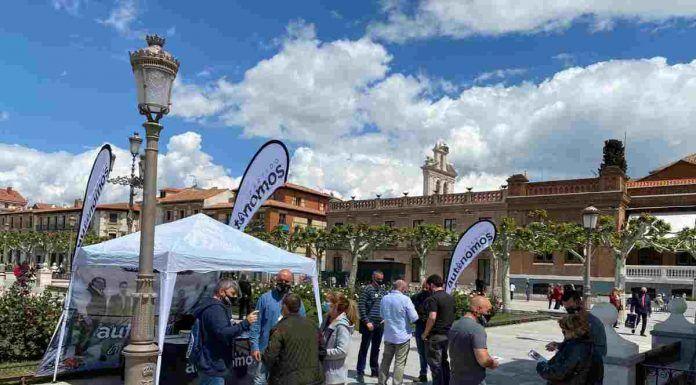 El Partido Autónomos, con sede también en Alcorcón, exige soluciones a la crisis energética.